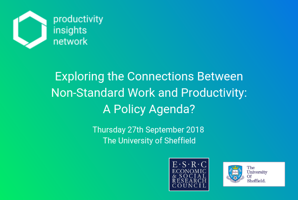 Exploring the Connections Between Non-Standard Work and Productivity: A Policy Agenda?